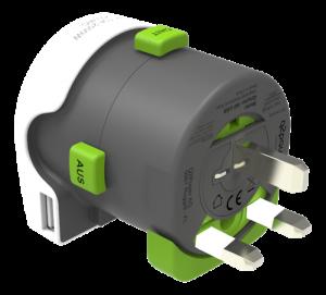 Multiadapter med USB - Typ G