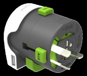 Multiadapter med USB - Typ I