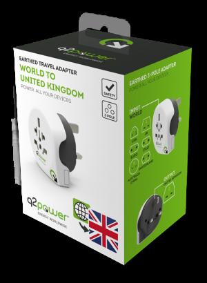 Reseadapter - brittisk standard